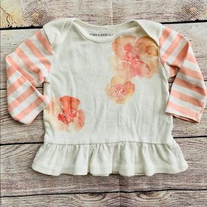 Burt's Bees Baby Floral Organic Cotton Top